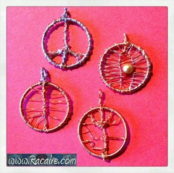 2016-12 - Racaire - wire projects - trees of life - tree of life - largesse - small gifts