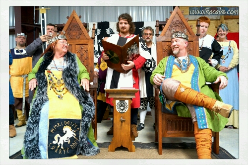 2017-04_Racaire - coronation Bryce and Rhiannon - SCA - Kingdom of Meridies - photos