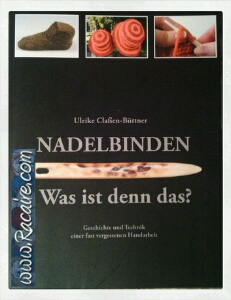 Book Nadelbinden with pictures of my work - Racaire