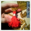 Racaire - tassel for the fast and easy pouch tutorial
