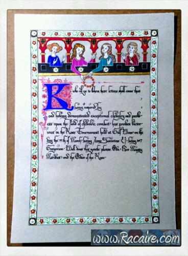 2017-03_Racaire_scriptorium_rose-tournament-scroll_3_finished