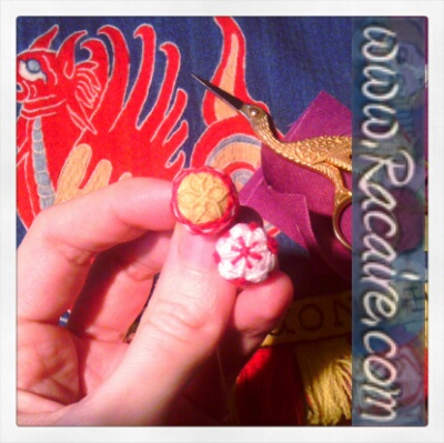 Embroidered & decorated Fabric-Buttons