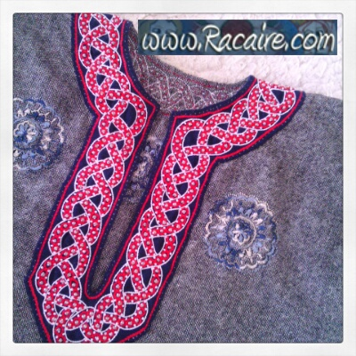 12th century inspired embroidery