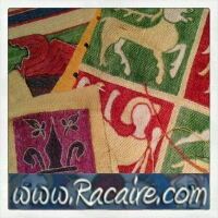 Racaire-medieval-embroidery-projects_2014 - Sneak peek at new Klosterstich embroidery - hand embroidery - medieval embroidery