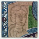 Racaire-medieval-embroidery_michael-and-the-dragon_02-2014_1